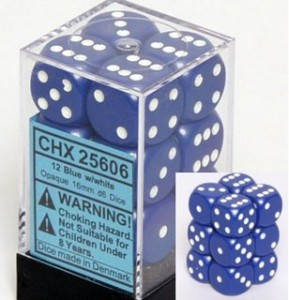 Chessex dice block