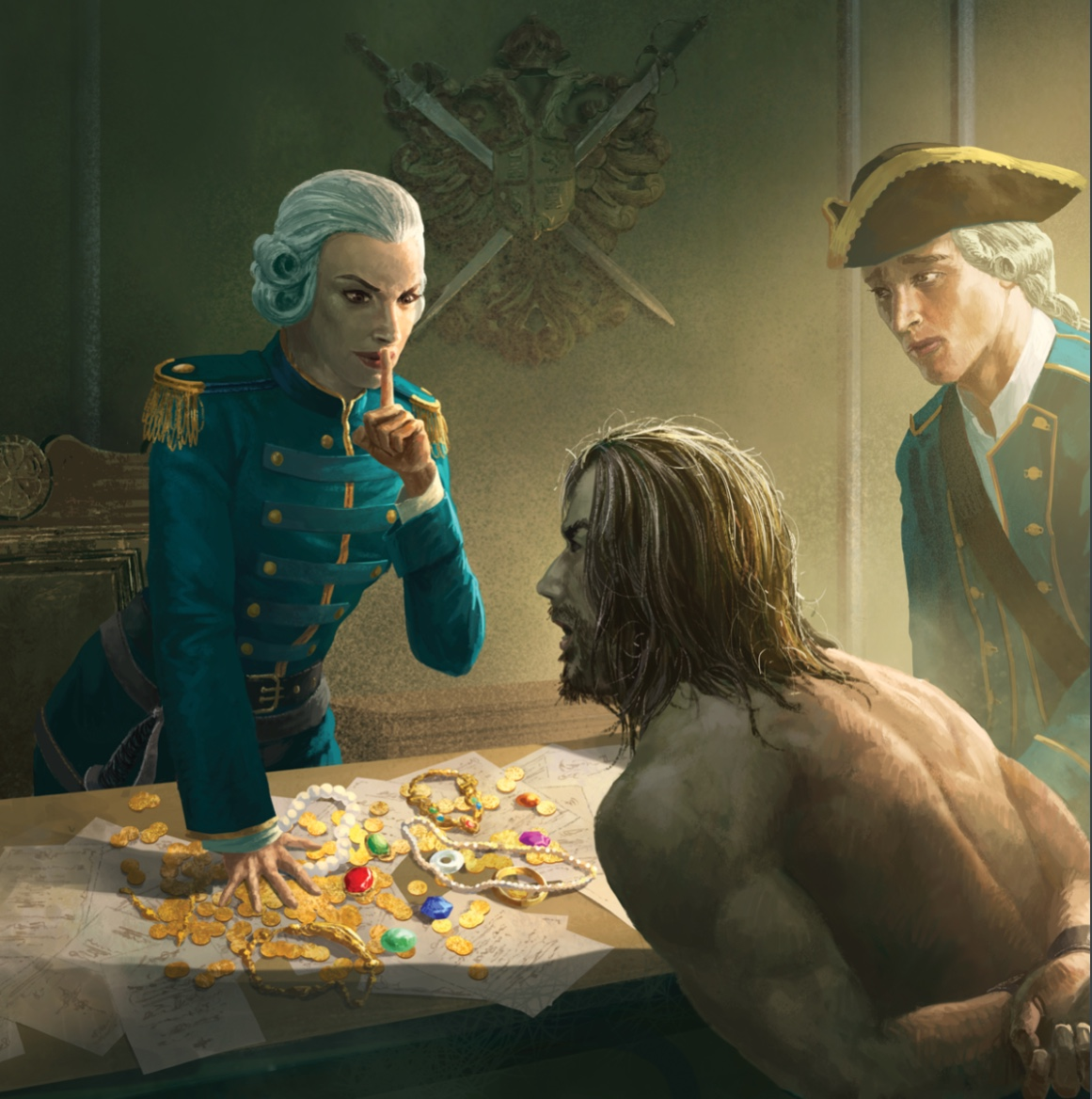 7th Sea: Pirate Nations   The Walking Mind