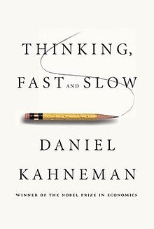"Cover of the book ""Thinking Fast And Slow"""